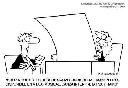 Curriculum Vitae: Mitos y Realidades.